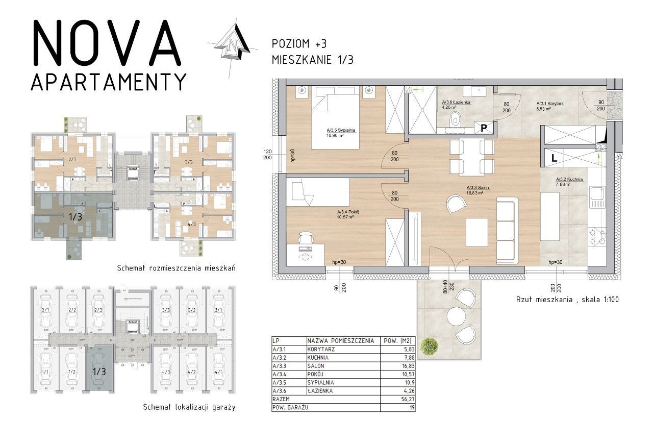 Wygodne Mieszkanie Nova Apartamenty M1/3
