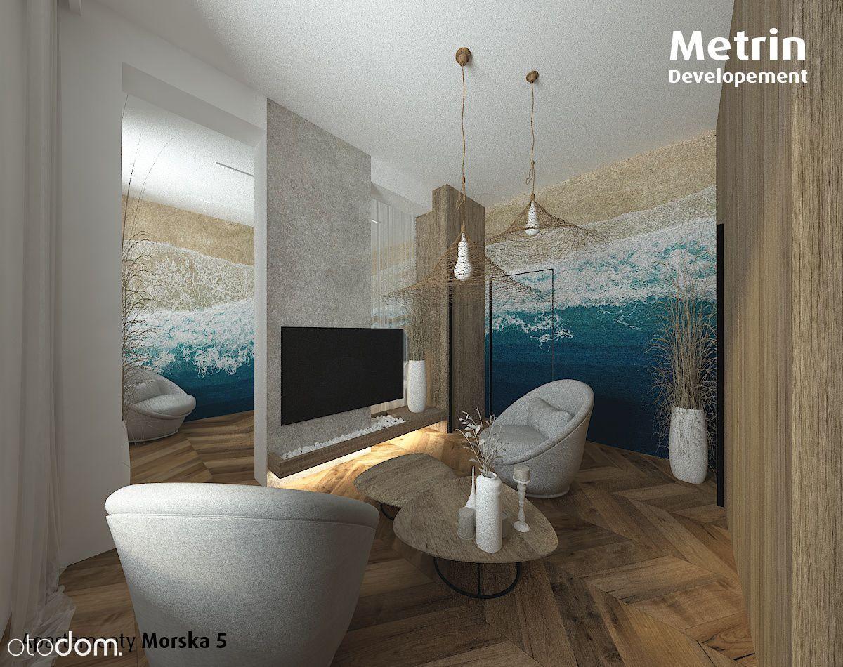 Apartament 3 pokojowy nad morzem*57,45m2