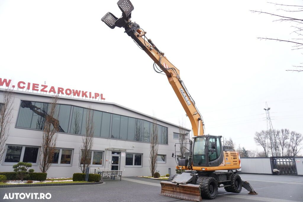 Case WX 168 , 18t , rotator ,grapple , blade ,supports , joystick , A - 3
