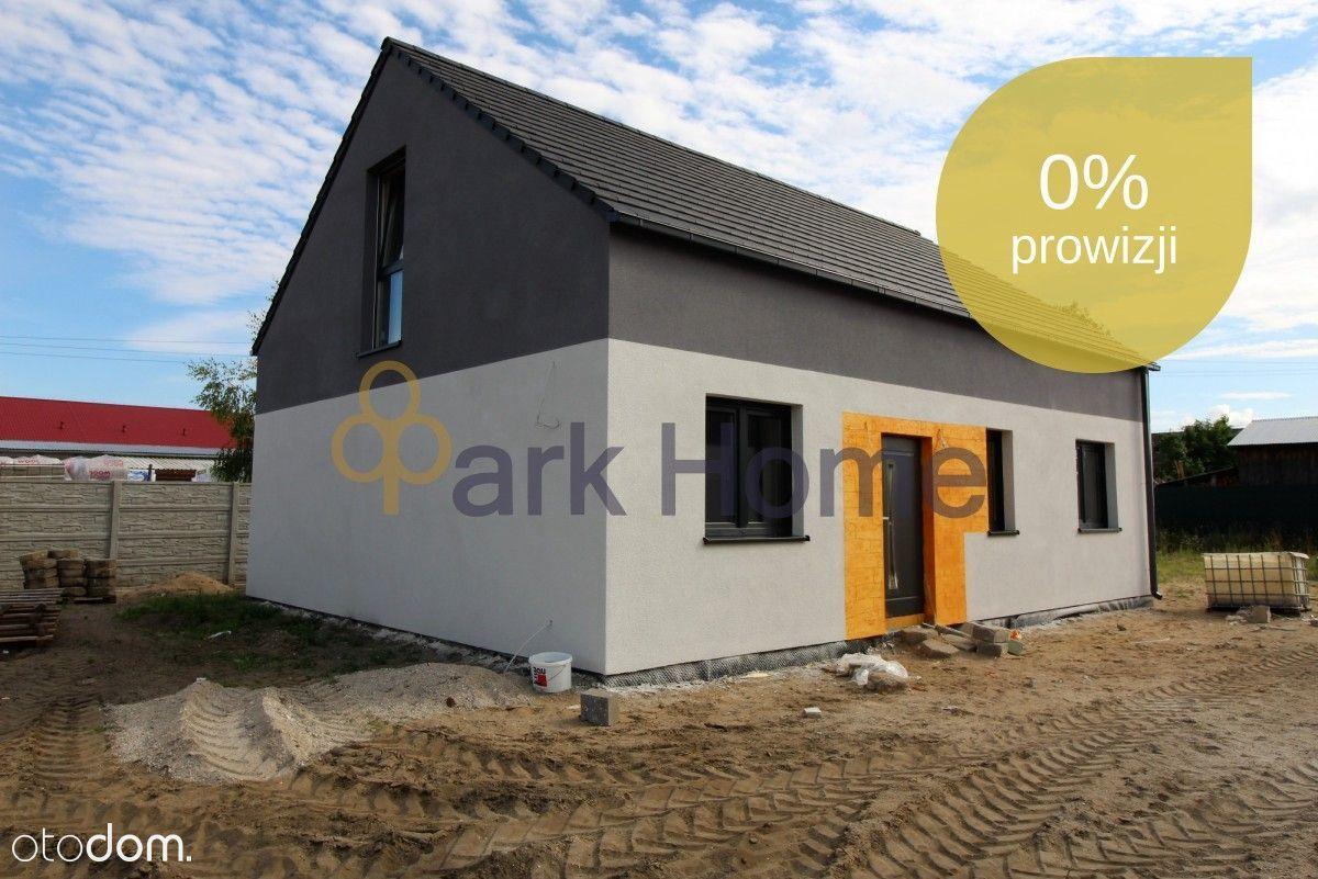 Nowe domy wolnostojące w kameralnej okolicy