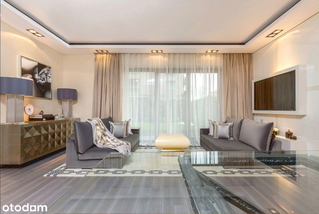 Lususowy Apartament z Ogrodem 75 m2 na Mokotowie