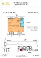 Mieszkanie nr 67 (Budynek A) SPRZEDANE