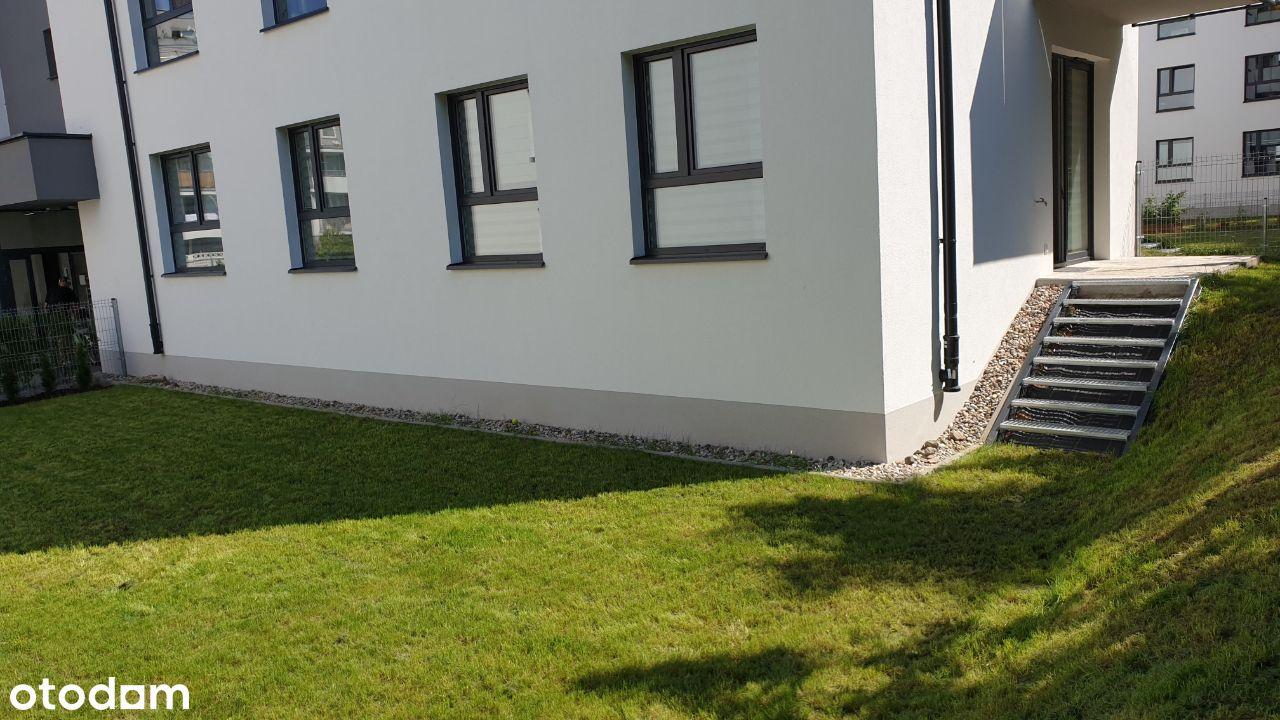 4-ro pokojowe mieszkanie 73m2 z ogródkiem 140m2,
