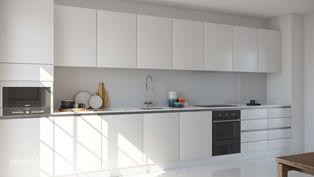 Apartamento Novo T2 com aspiração central e vidros duplos