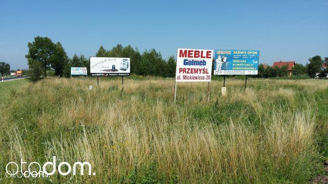 Działka inwestycyjna droga Przemyśl-Medyka