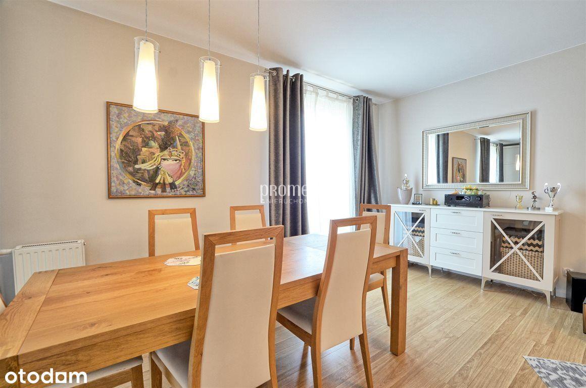 Apartament/4 pokoje/balkon/elegancki/przy Odrze