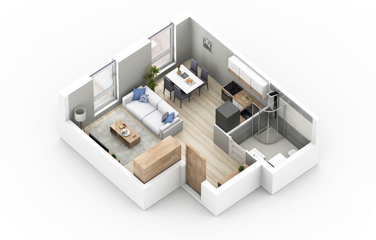 Nowa kawalerka na pięknym, nowoczesnym osiedlu
