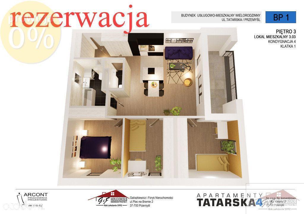 Mieszkanie na sprzedaż - III piętro - 3.03 Bp1