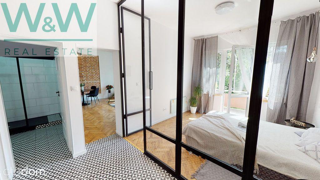 2 pokoje, piękne wykonczone mieszkanie, balkon,las