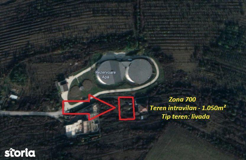 Zona 700 - Teren intravilan - 1.050m², Deva  Licitatie publica