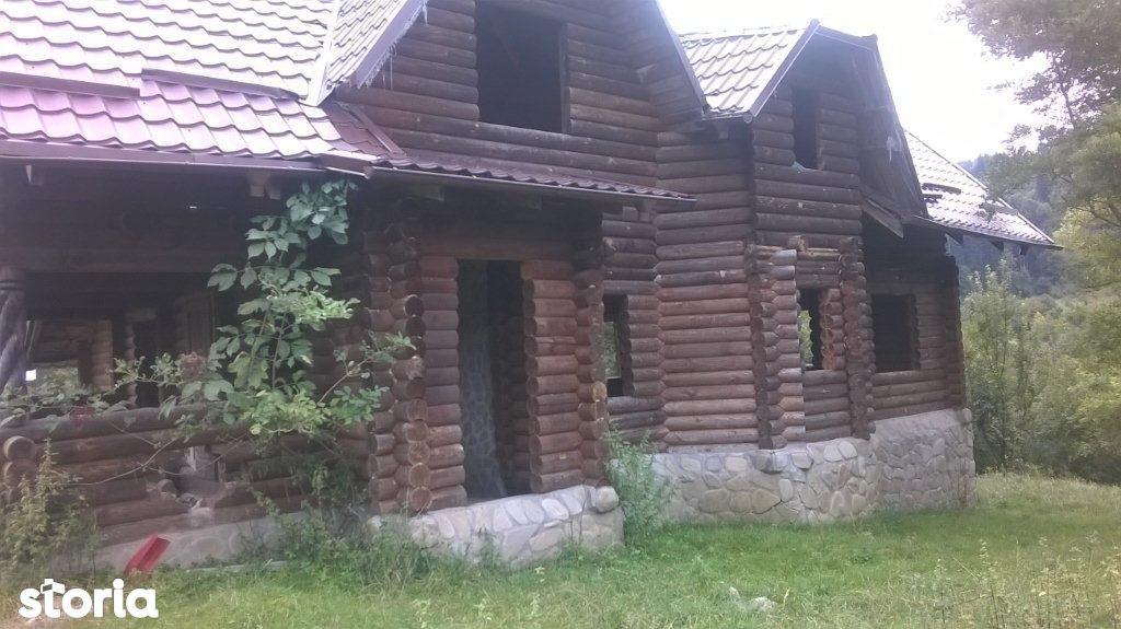 4.600 mp teren intravilan + casa lemn neintabulata, Cheia - Sacele