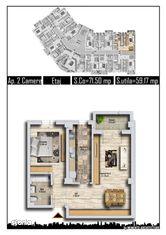 Apartament 2 camere decoamandat metrou Pacii