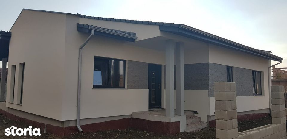 Casa noua pe un singur nivel