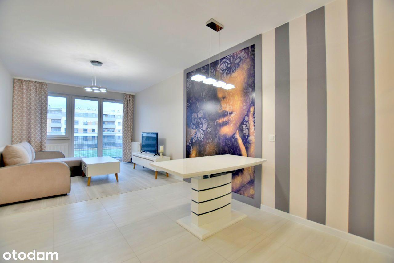 Lux, 3 pokoje, osobne WC, balkon, zmywarka