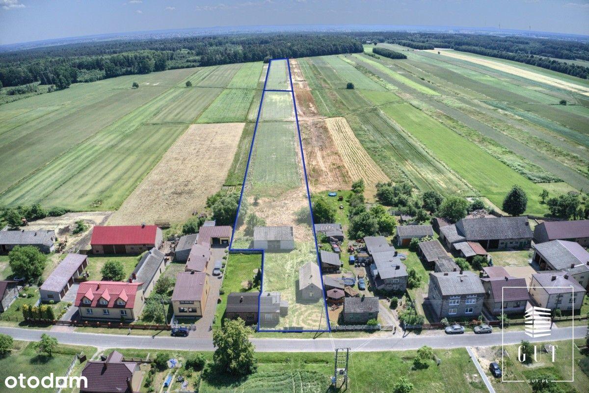 Działka rolno - budowlana, grunty rolne.