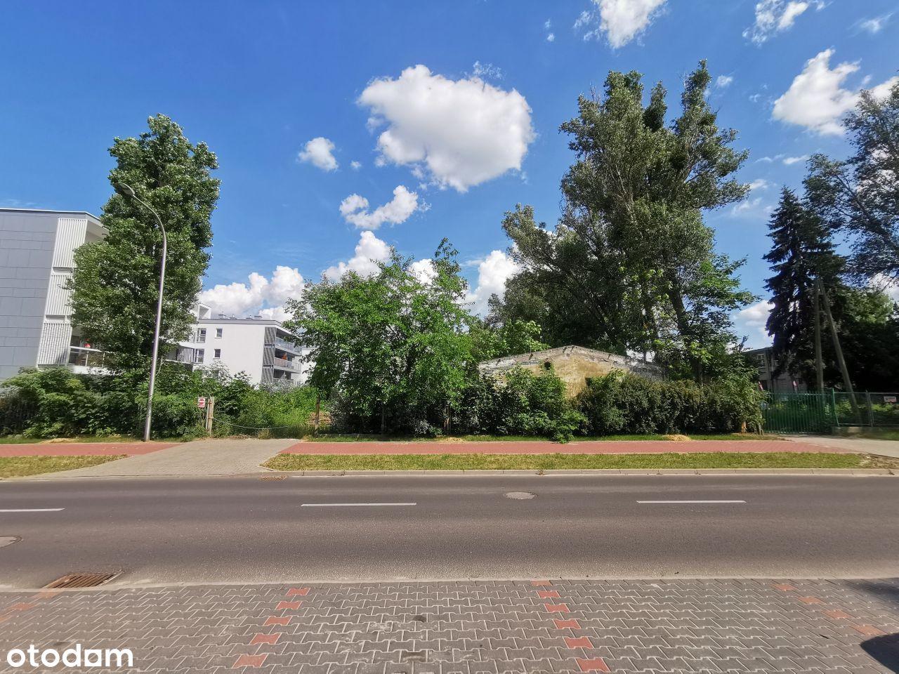 Działka budowlana 4083m2, Pruszków ul. Lipowa