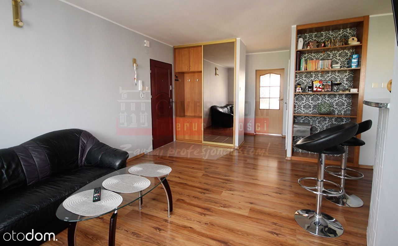 Mieszkanie, 59,61 m², Brzeg