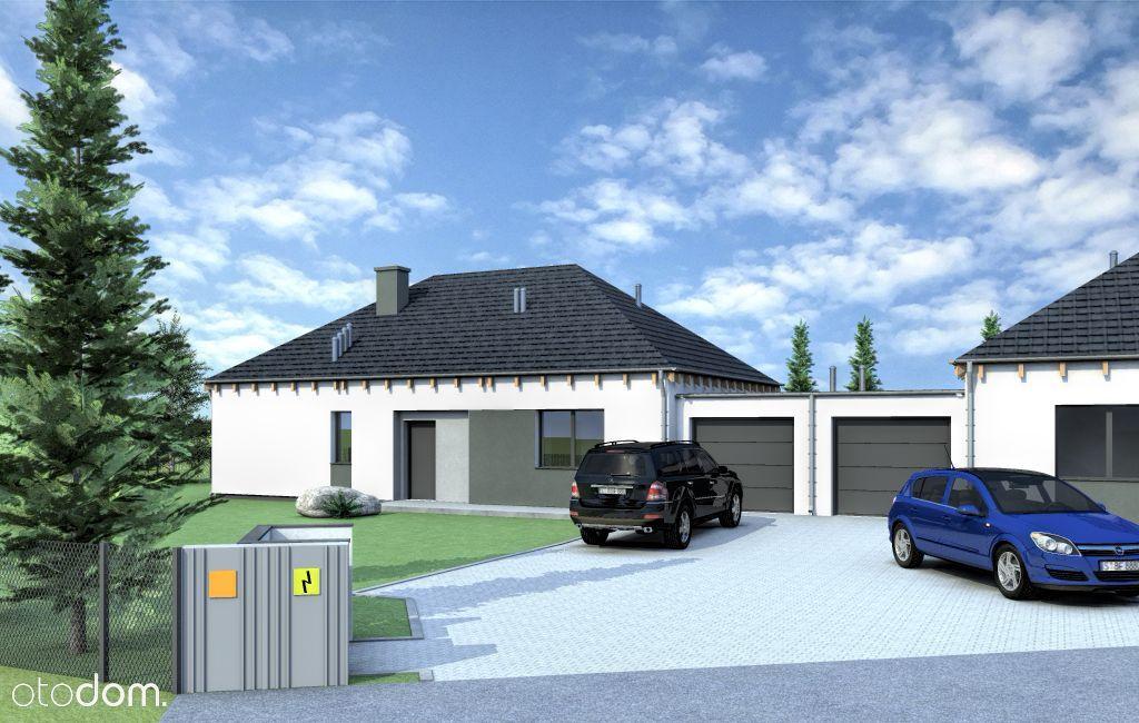Lusowo dom parterowy z garażem 118,79m2