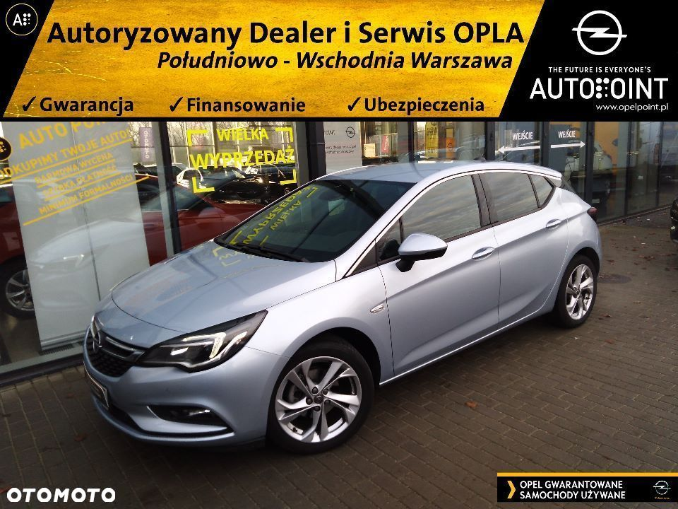 Opel Astra 1.4T 150KM Dynamic AT6 SalonPL ASO FV23% - 1