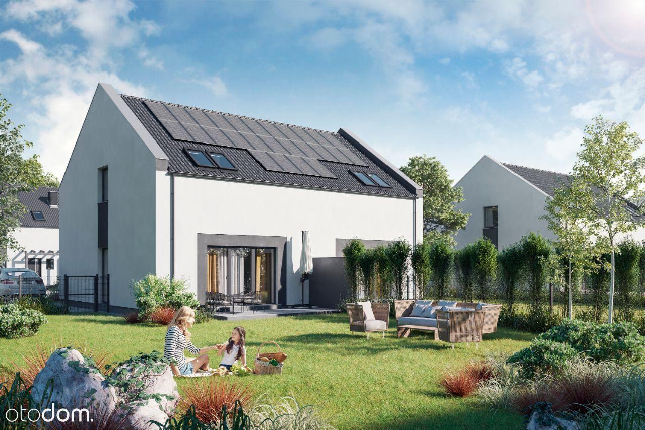 Energooszczędne domy, duży ogród Kostrzyn/Wróblewo