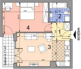 BA1.15 lokal mieszkalny, Ip, Kobierzyńska 164