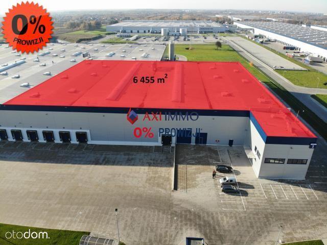 Nowa hala produkcyjna 6455m2 z dużym biurem