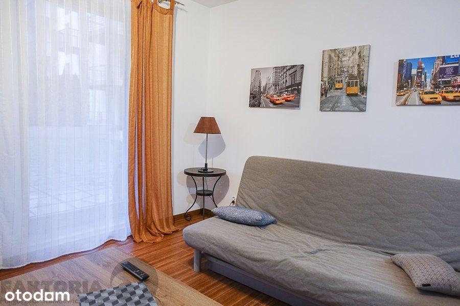 Centrum 2 pokoje 42,5 m2 apartamentowiec, garaż