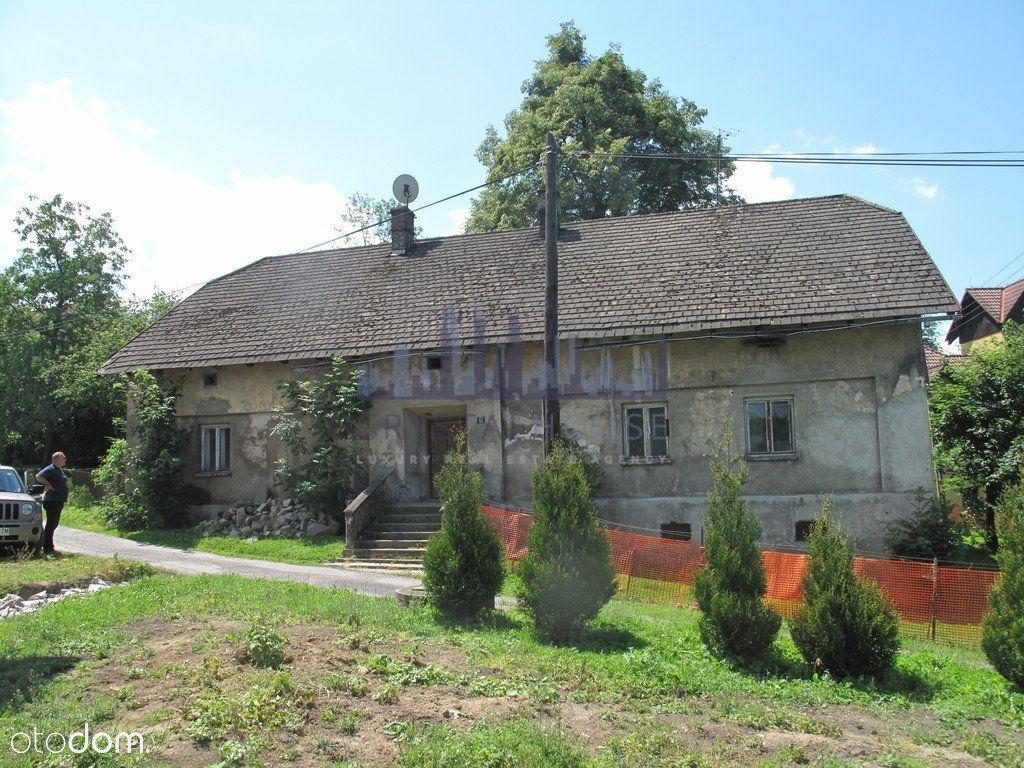 Dom z potencjałem i projektem w Cisownicy Beskidy