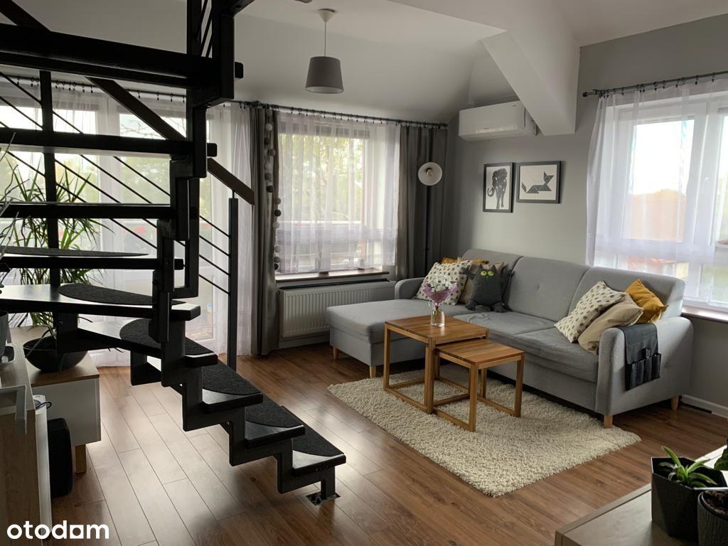 Słoneczne mieszkanie dwupoziomowe na Wojszycach