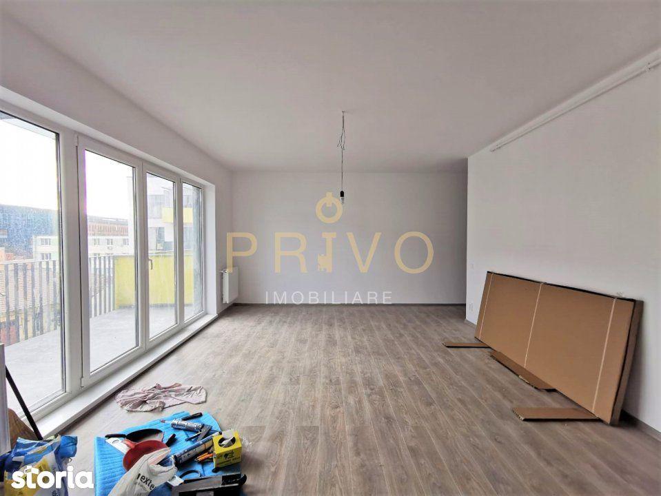 Apartament 2 camere 58 mp terasa zona str. Anton Pann.