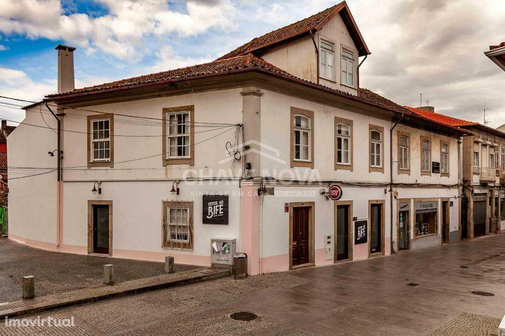 Trespasse no centro histórico de Santa Maria da Feira