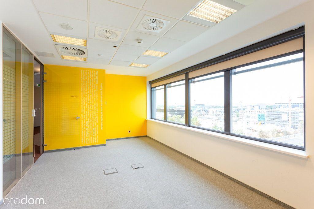 Wykończone biuro z atrakcyjnym widokiem od zaraz