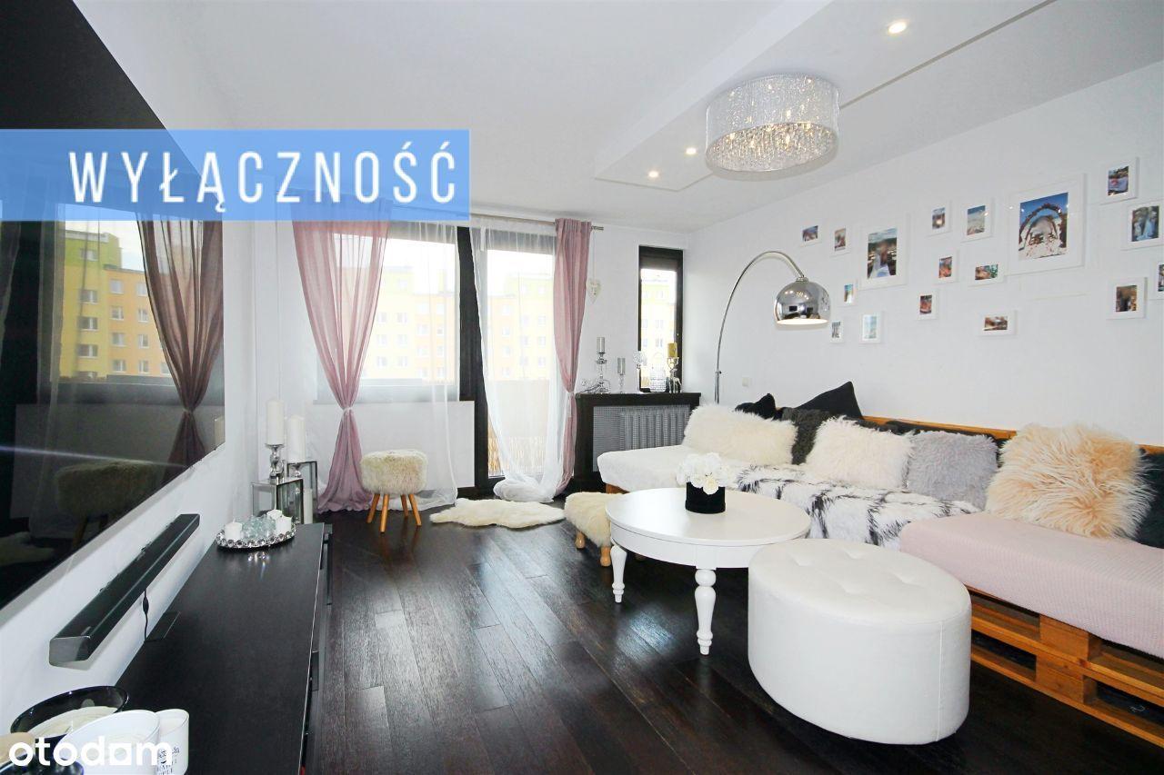 Apartament na Podzamczu z doskonałym widokiem.