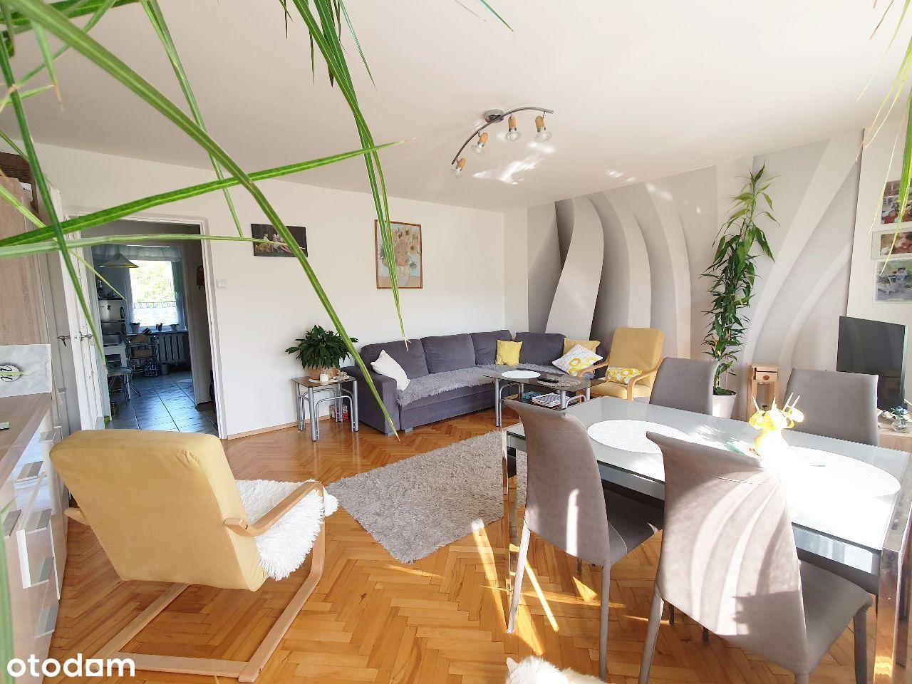 Mieszkanie z loggią, piwnicą, 3 pokoje, 64 m2