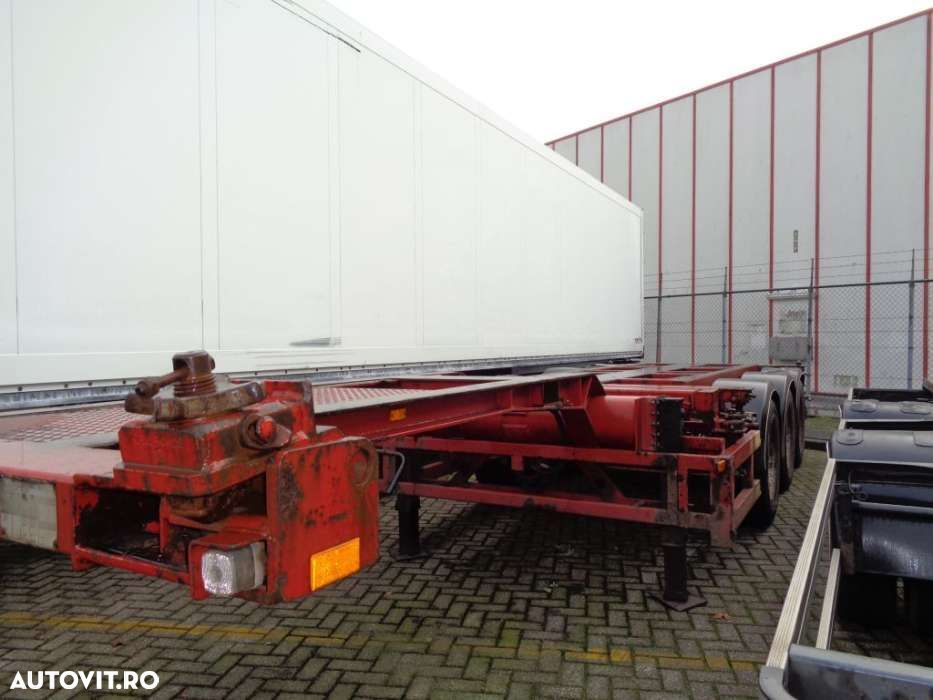 Broshuis 3UCC-39 + 3 axle + 2X EXTENDABLE 40FT HC - 1