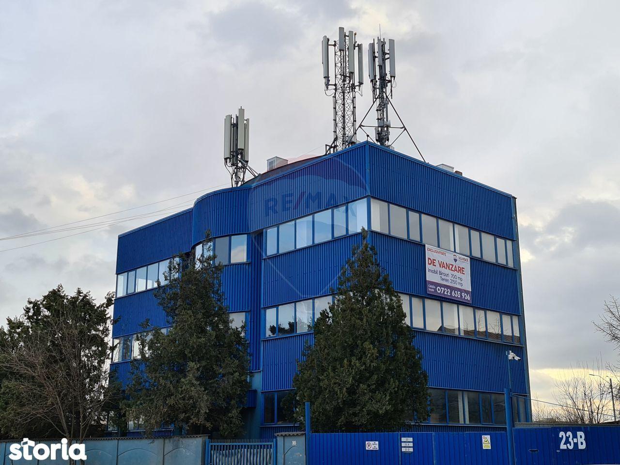 Spațiu birouri si industrial cu accesibilitate A3- Str. Gherghitei