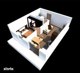 Apartament - Etaj 1 - Scara 1 - 43.51 mp