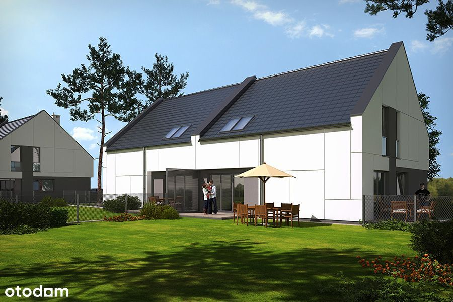 Dom w inwestycji Osiedle Zacisze, 1BM1