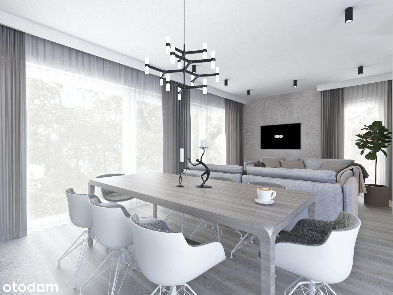 Apartament 2-pokojowy 53,53 m2 z dużym tarasem