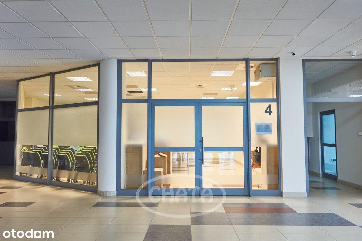 Biuro, sala szkoleniowa, magazyn, 65 metrów.