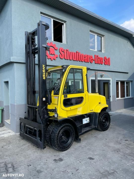 Hyster Motostivuitor Hyster H7.0FT AN 2016 DIESEL 7 tone ORE 7618 Catarg duplex - 1