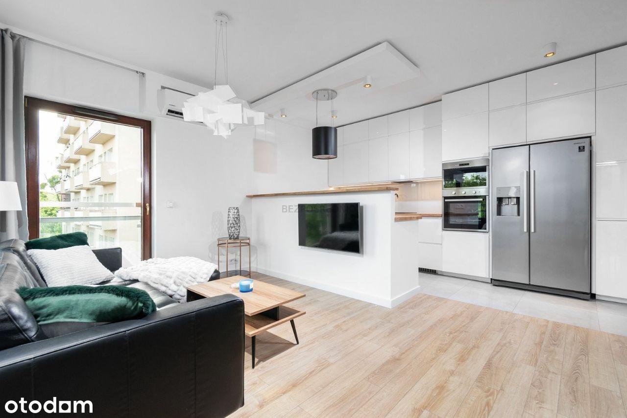 Apartament METRO Woronicza 34a, 81m2, 3pok, garaż