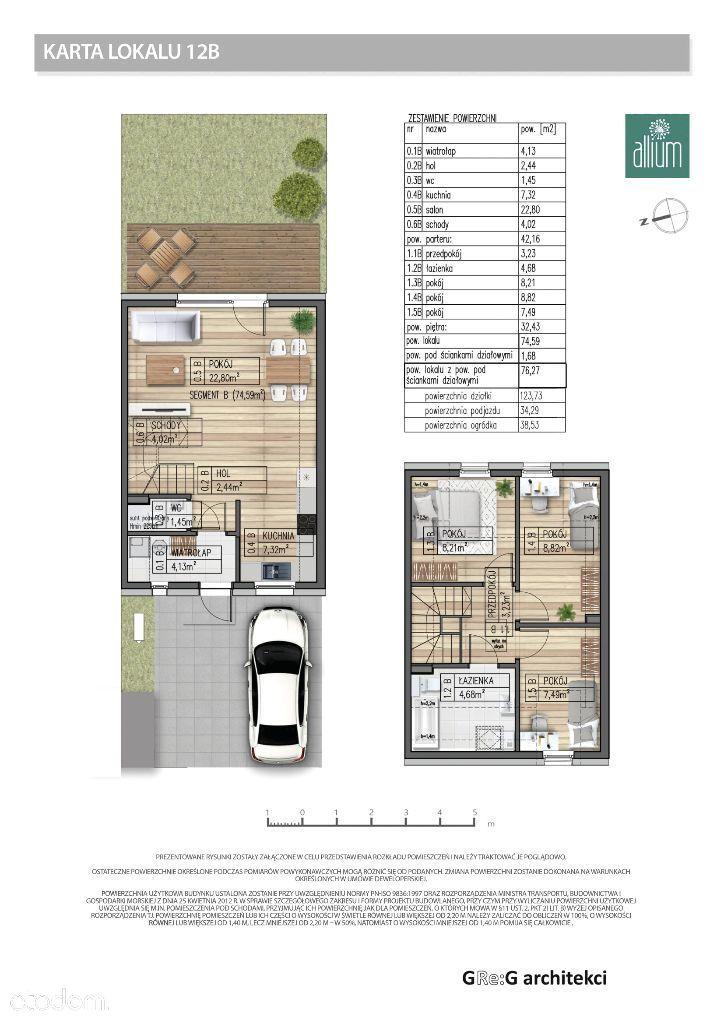 Segment B - 76,27 m2