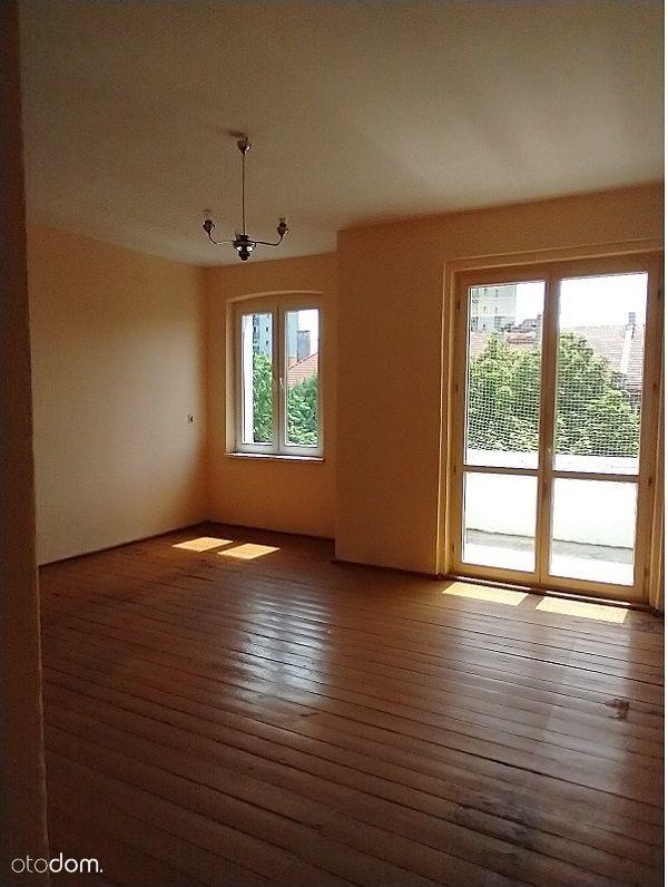 Duże mieszkanie 2 pokojowe z potencjałem
