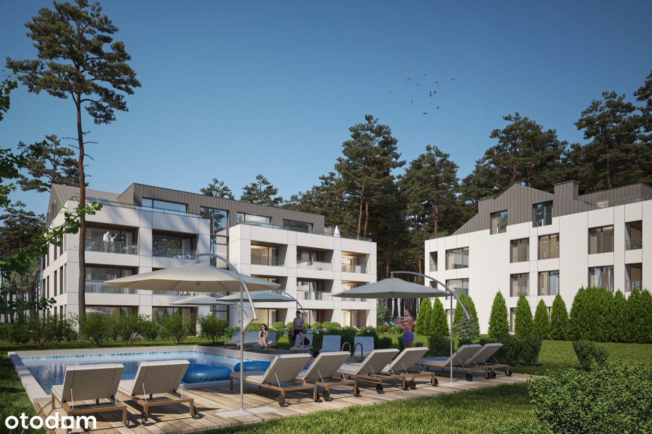 Sea Shell - Łukęcin - wykończone apartamenty