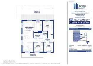 K9 Apartamenty M3 96,64 m2 - Gdynia Działki Leśne