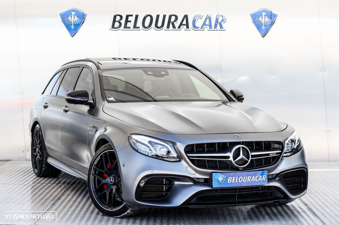 Mercedes-Benz E 63 AMG S 4-Matic+ - 1