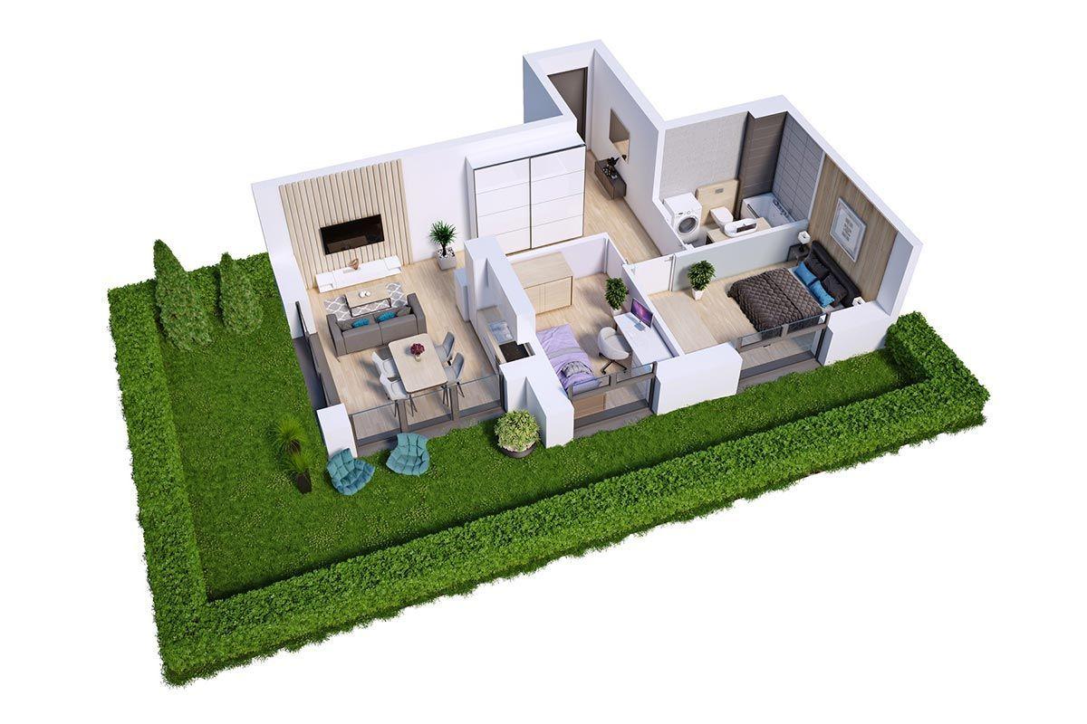 Na sprzedaż 3 pokoje z ogrodem, garaż w cenie!