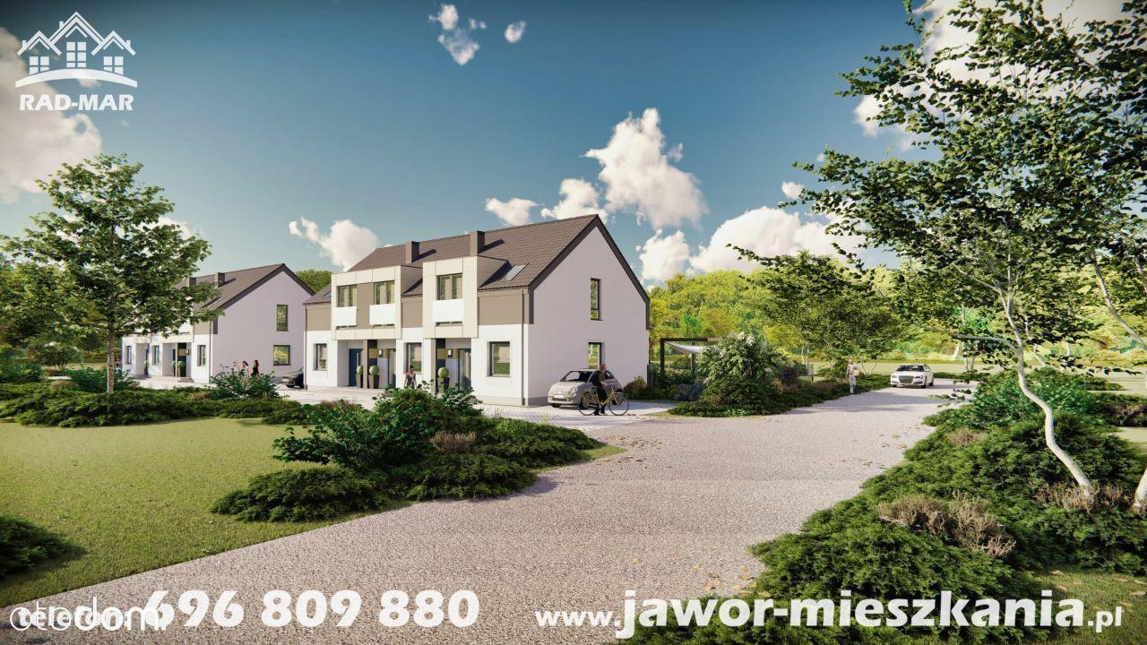Nowe mieszkanie dwupoziomowe z ogrodem o pow. 75 m