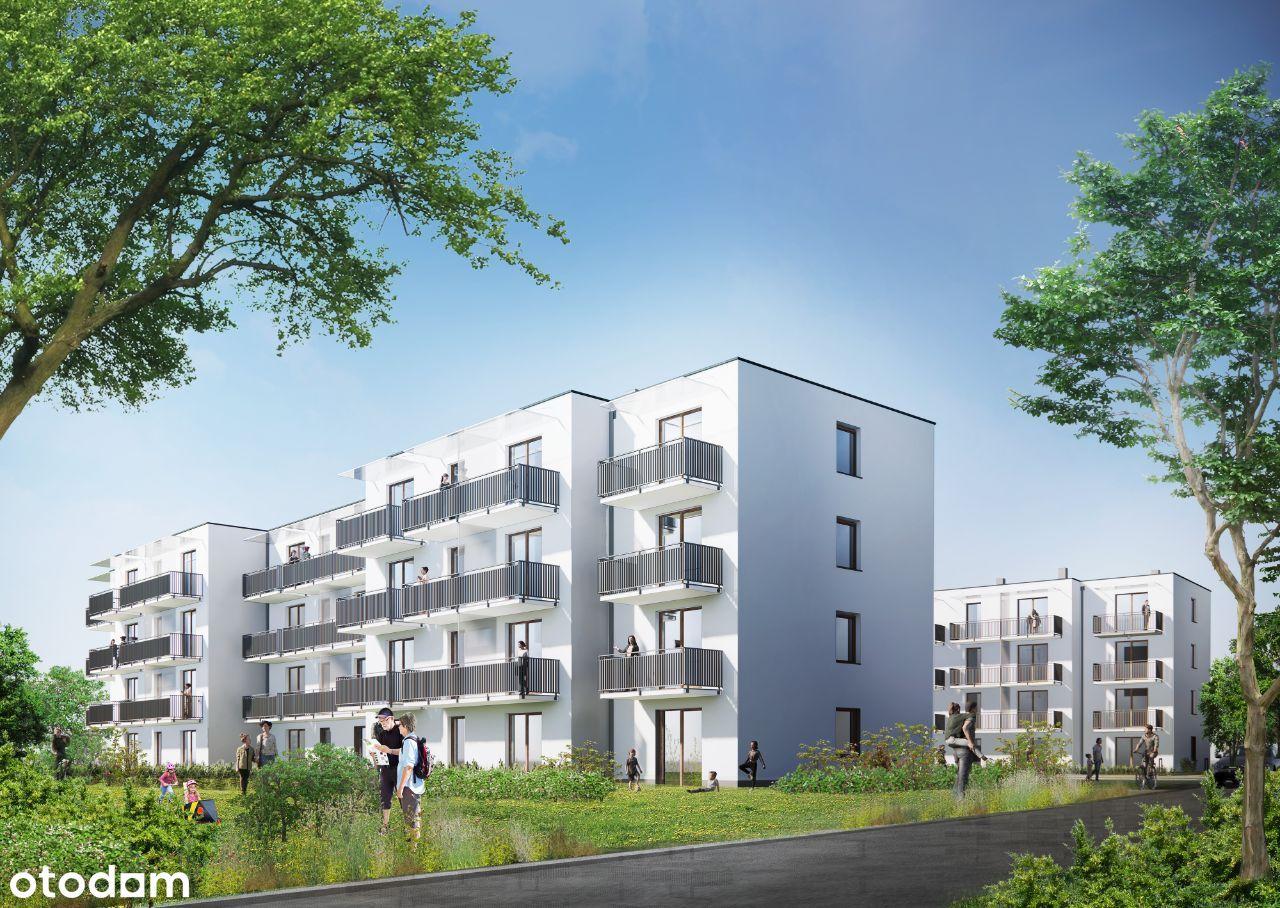 Mieszkanie - 46,66m2 - ogródek, taras - Kolbuszowa